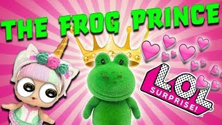"""LOL Dolls Perform """"Princess and the Frog""""! With Unicorn, Snuggle Babe, and The Great Baby!"""