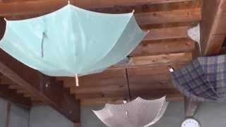 柳川市内の農家の納屋(作業場)につばめが多い年で20個ほどの巣を作...