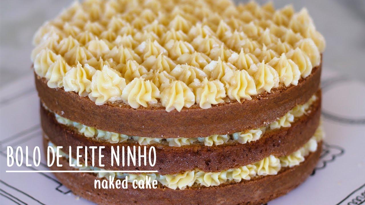 Naked Cake de chocolate com morangos - Amando Cozinhar