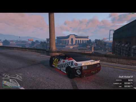 GTA V Online Race #344 Skyline Raceway