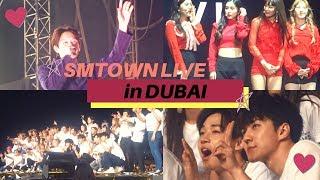 [SM타운 라이브 월드투어 식스 인 두바이] FULL SMTOWN LIVE in DUBAI VLOG | ITSJEMHERE - Stafaband