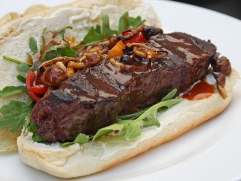 """Steakage"" – Changing the Shape of Your Steak Sandwich"