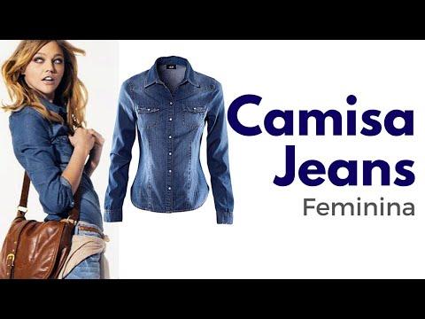 Camisa Jeans Feminina - Como usar a camisa jeans feminina