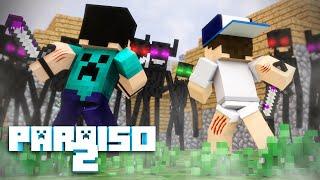 Minecraft: PARAÍSO 2 - #08 O MONSTRO TARADO!