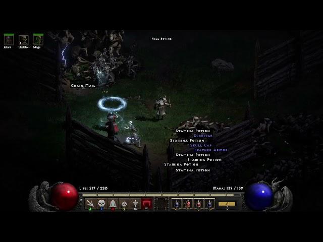 Diablo 2 Resurrected The Secret Cow level run (Non commentary)
