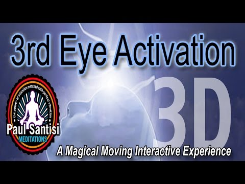 3rd Eye Minds Eye Activation Interactive Meditation Experience In 3D Chakra Balance Pau Santisi