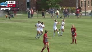 EWU Soccer Highlights vs. South Dakota (Aug. 20, 2017)