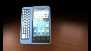 3d cell phone animation htc evo shift 4g