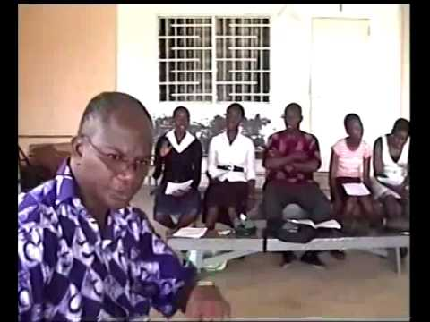 Obuasi AGA School prepares for APSNET - UNESCO Choral Contest held at Togo 2011