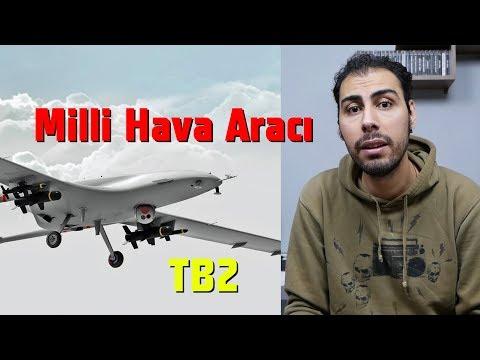 Milli İnsansız Hava Aracı Göreve Hazır- Silah Sistemli İha Bayraktar TB2