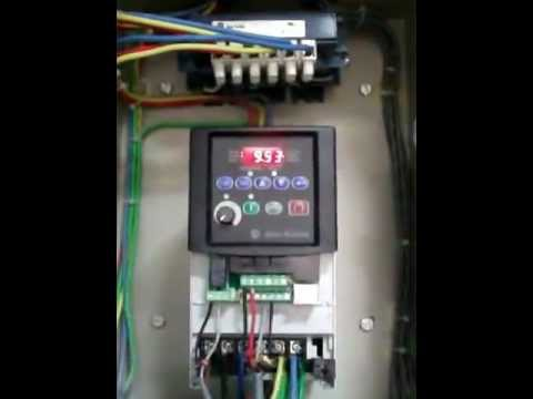 hqdefault vfd allen bradley powerflex 4 youtube powerflex 40 wiring diagram at bayanpartner.co