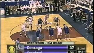 Gonzaga VS Stanford 3/13/1999