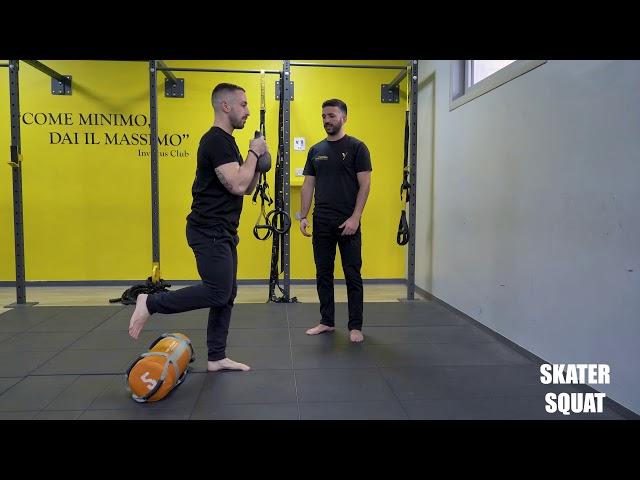 Skater squat. Esecuzione e tecnica