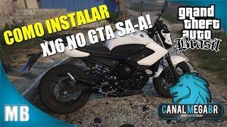 Como Instalar XJ6 no GTA San Andreas Brasil (Para PC FRACO) 2017
