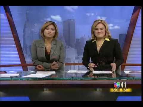 Merijoel Duran - Univision 41 Al Despertar - 911 World Trade Center 7th Anniversary 9-11-2008