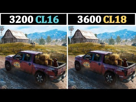 3200Mhz CL16 vs 3600Mhz CL18 | Tested 15 Games |