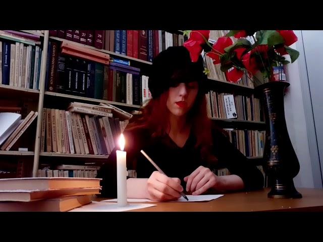 Изображение предпросмотра прочтения – ПолинаЧикова читает произведение «Конвертом» Д.Лысенко