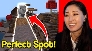 I found the PERFECT spot for my house! Minecraft W/ Pamela Horton
