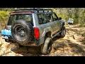 Land Rover Defender vs Nissan Patrol @ Oakdale
