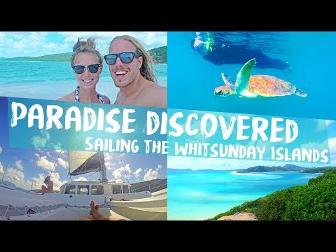 Magical paradise discovered ⛵️ Sailing the Whitsunday Islands
