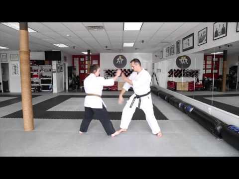 Karate KCRD - hand drills #2 Rudy Duquet