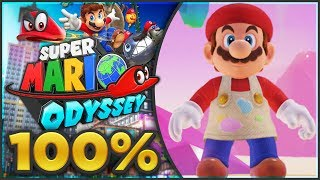 Super Mario Odyssey - Luncheon Kingdom 100% All Moons & Coins! [🔴LIVE]