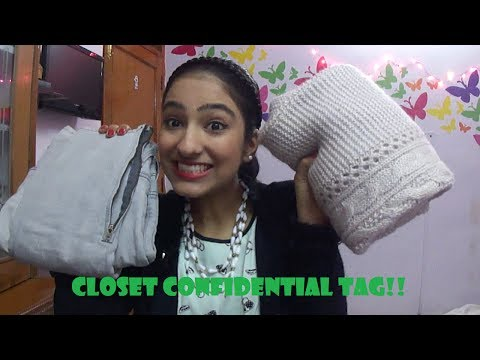 CLOSET CONFIDENTIAL TAG- a look into my closet!!