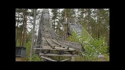 BMW R1200 Gs Adventure motorcycle trip to Somerharju ex hill ski jump