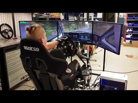 Racing Simulators - DoF P3 (three axis of movement and force