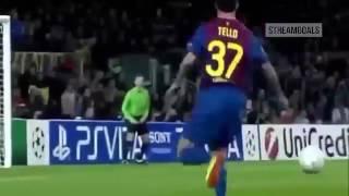 اهداف مباراة برشلونة وباير ليفركوزن 7-1 - دوري ابطال اوروبا 2012 HD