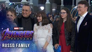 Directors Anthony and Joe Russo on a journey's end LIVE at the Avengers: Endgame Premiere