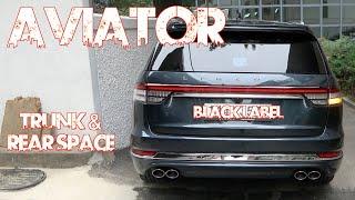 링컨 에비에이터 블랙레이블 트렁크&2,3열(Lincoln Aviator Blacklabel Trunk & rear space)