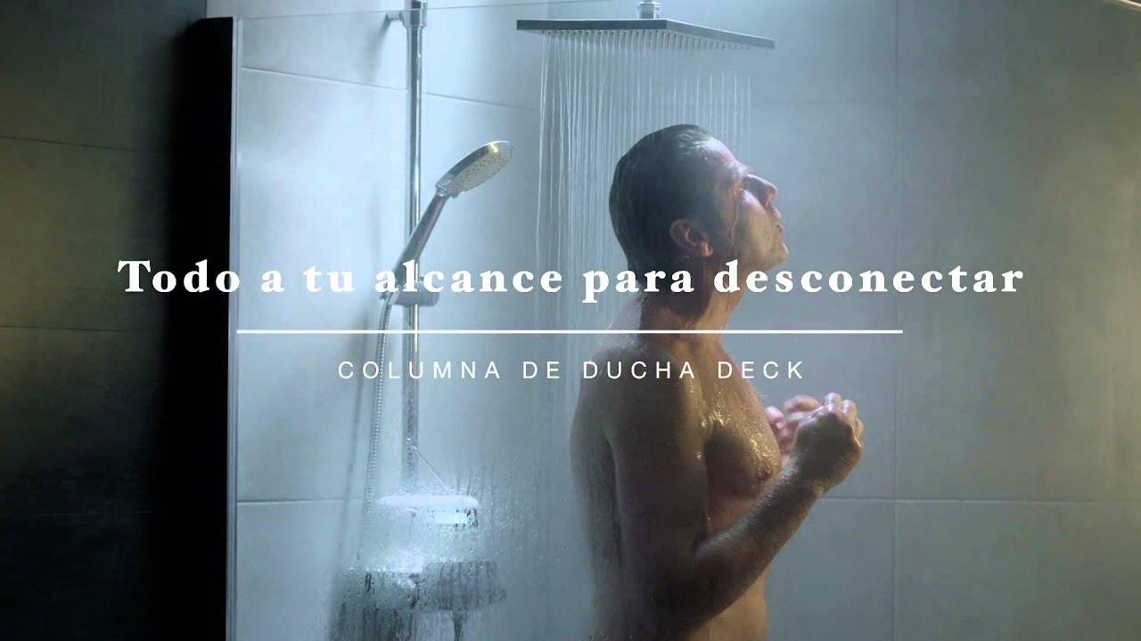 Columna de ducha deck una vida contigo roca youtube for Partes de una griferia de ducha