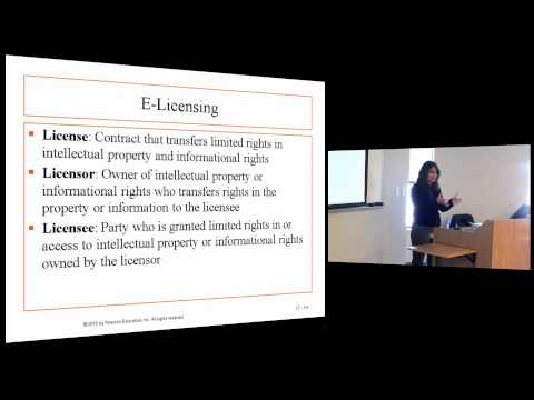 Business Law I: Lecture 6, Chapter 17