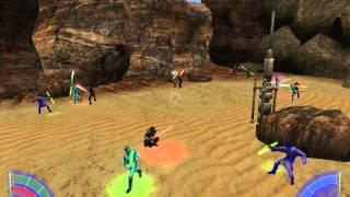 Jedi Academy: Reborn Masters vs Jedi Masters