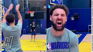 Klay Thompson Makes 12 Threes In A Row 🔥 Return Preview