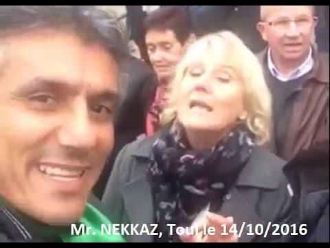 Rachid NEKKAZ vs Nadine MORANO, Toul, France, le 14/10/2016