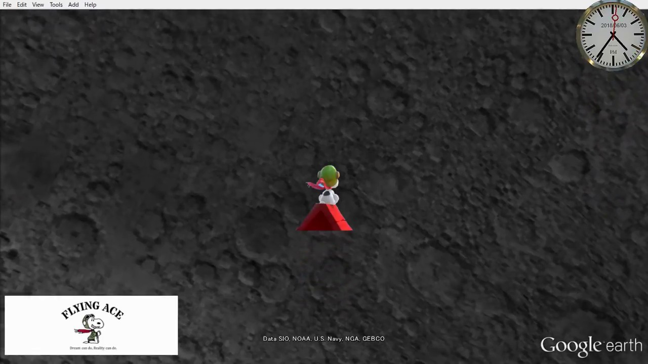 Download 【 Google Earth × SNOOPY 】 What's your moonshot?★ 013/2018 ★【 Google X Moonshot 】