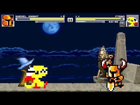 Mugen Battle Mania #66 Shovel Knight Vs Fygar and Black Mage