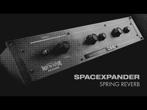 SPACEXPANDER Spring Reverb - FREE Rack Extension