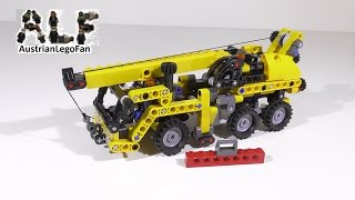 Lego Technic 8067 Mini Mobile Crane / Mobiler Mini Kran - Lego Speed Build Review
