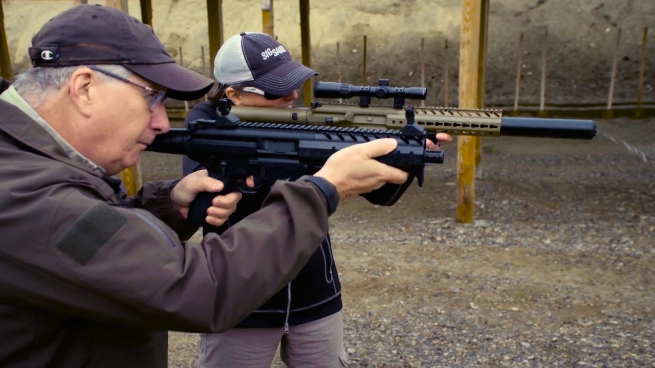 Sig Sauer Airguns - Easy and fun to shoot: Guns & Gear|S8 E1 - YouTube