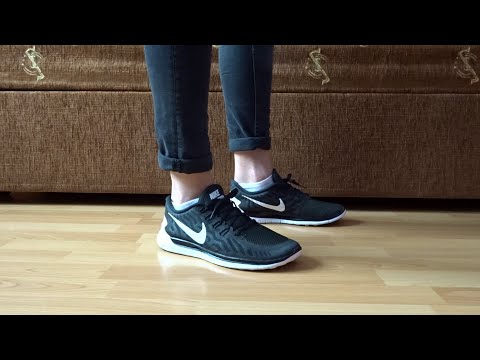 premium selection 64bc5 e34af NIKE FREE 5.0 MEN S RUNNING SHOE DETAILED LOOK   ON FEET - YouTube