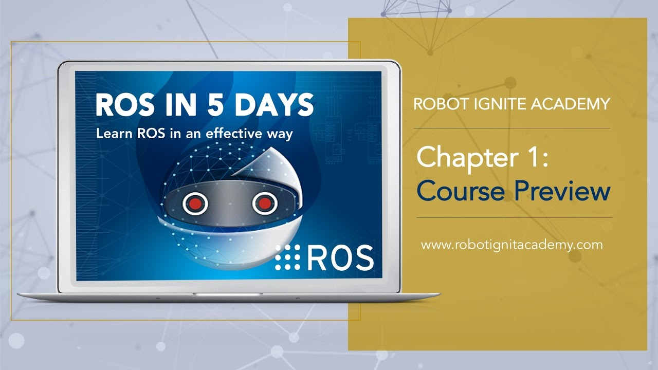 ROS BASICS IN 5 DAYS #2 - Learn ROS Without Installation & Programming  Turtlebot