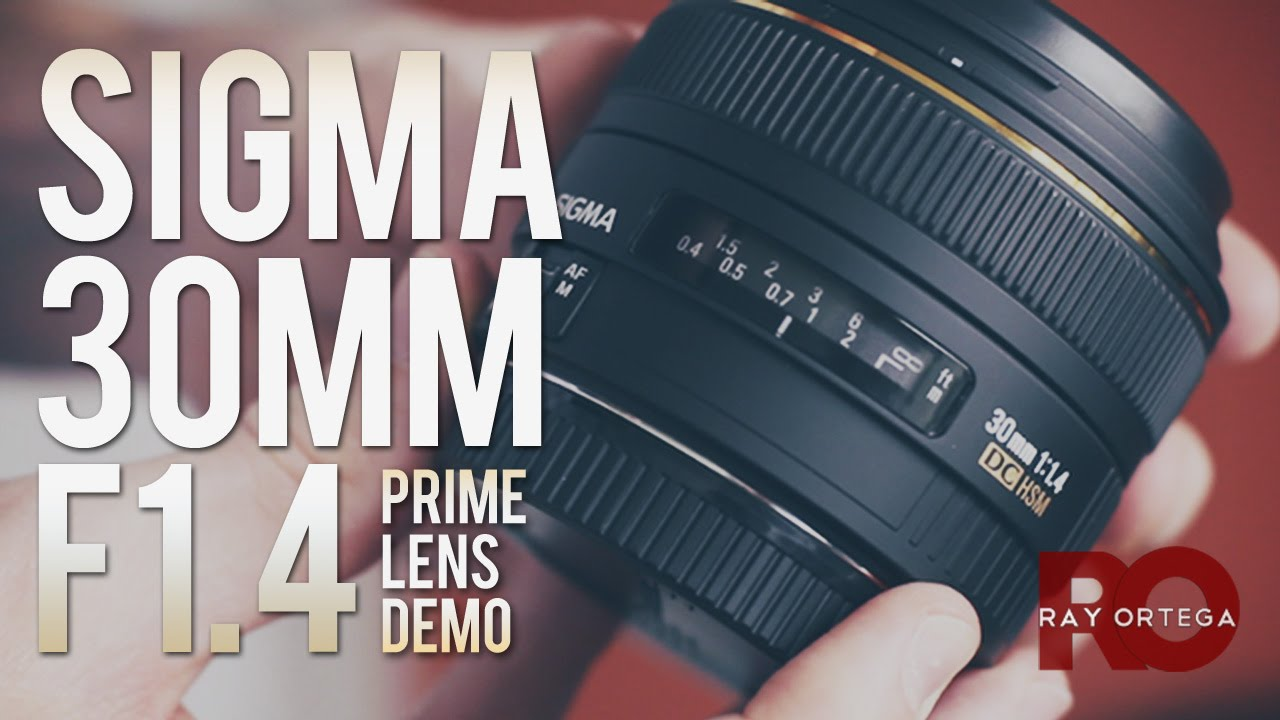 Sigma 30mm 1.4 Prime Lens for Canon DSLR