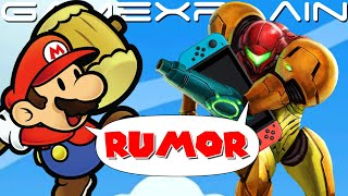 So About Those New Paper Mario & Metroid Rumors...Let's Discuss!