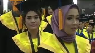 Wisuda Gelombang I Tahun 2017/2018 Hari ke 1 Tanggal 25 November 2017