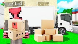FAKİR KARGOCU OLDU! 😱 - Minecraft