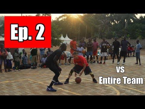 Professor vs College African Team 1v1 | Uganda, Africa (GH Ep2)