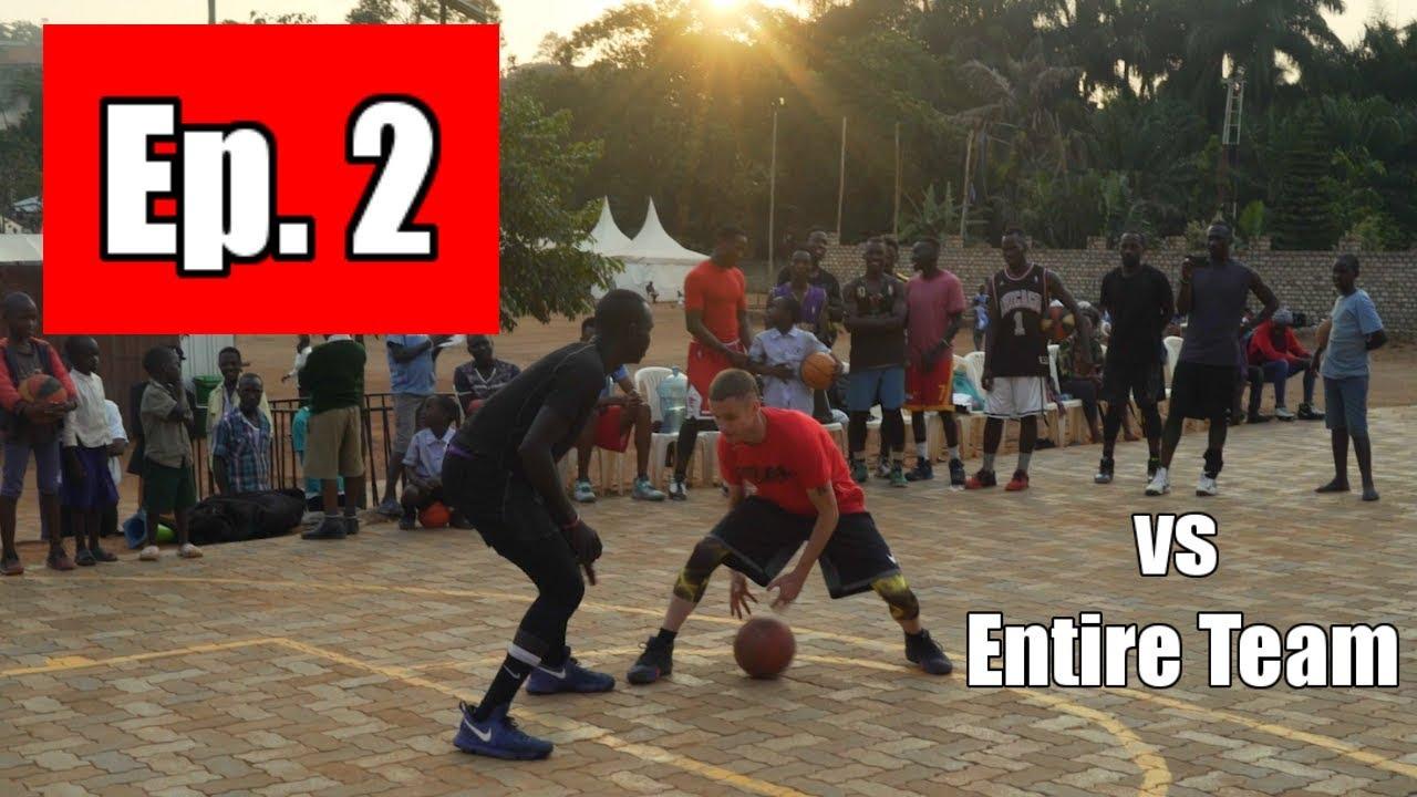 Professor vs College African Team 1v1 | Uganda, Africa (GH Ep.2)